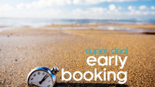 Sconto Early Booking